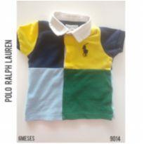 Camisa polo em piquet Polo Ralph Lauren, Original - 6 meses - Ralph Lauren