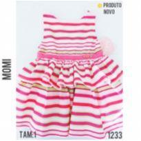 Vestido de festa Momi, NOVO - 1 ano - Momi