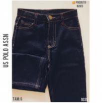 Calça jeans reta Us Polo Assn, NOVA - 6 anos - US Polo Assn