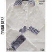 Pijama social em flanela, Divino Bebe, NOVO - 1 ano - Divino Bebê