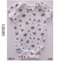 Body manga curta Carters - 3 meses - Carter`s e carter`s, baby gap, zara