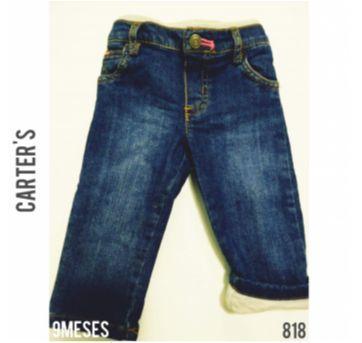 Calça jeans Carter`s - 9 meses - Carter`s e carter`s, baby gap, zara