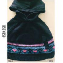 Poncho em lã com capuz Oshkosh - 3 anos - OshKosh