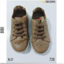 Sapatênis casual em couro Bibi - 21 - Bibi