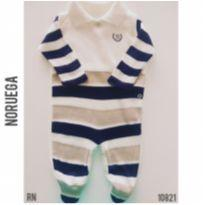 Macacão Noruega Baby - Recém Nascido - Noruega Baby e Noruega