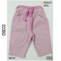 Calça em lã batida Chicco, NOVA - 3 meses - Chicco