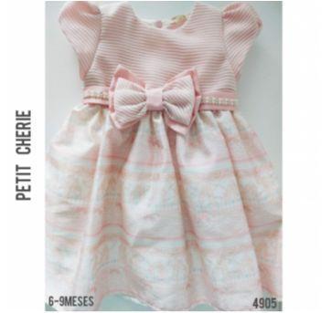 Vestido de festa Petit Cherie - 6 a 9 meses - Petit Cherie