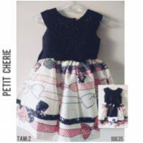 Vestido de festa Petit Cherie - 2 anos - Petit Cherie