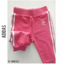 Calça em moletom Adidas - 12 a 18 meses - Adidas e Puma e Adidas Originais