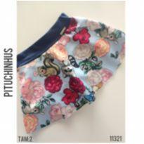 Shorts saia Pituchinhus - 2 anos - Pituchinhus e Pituchinhu`s Grife para P