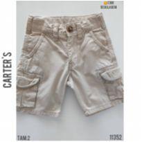Bermuda em sarja Carters - 2 anos - Carter`s e carter`s, baby gap, zara