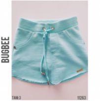 Shorts saia Bugbee - 3 anos - Bugbee