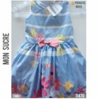 Vestido Mon Sucre, NOVO - 1 ano - Mon Sucré e Mon Sucré