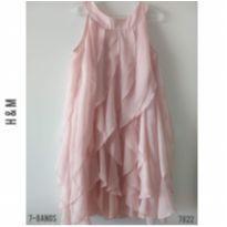 Vestido rosé H&M