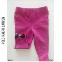 Legging pink Ralph Lauren - 9 meses - Ralph Lauren e Polo Ralph Lauren