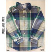 Camisa social casual Janie and Jack - 2 anos - Janie and Jack