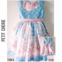 Vestido de festa Petit Cherie - 4 anos - Petit Cherie