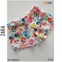 Shorts em linho Zara - 18 a 24 meses - Zara e Zara Baby