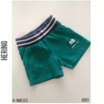 Shorts Hering - 6 a 9 meses - Hering Kids e Hering Baby