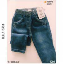 Calça jeans Tillly Baby, NOVA - 18 meses - Tilly Baby