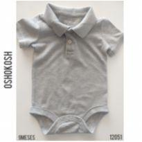 Body gola polo Oshokosh - 9 meses - OshKosh e Genuine Baby  OshKosh