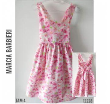 Vestido Marcia Barbieri - 4 anos - Marcia Barbieri