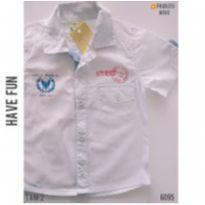 Camisa casual NOVA - 2 anos - Have Fun