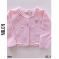 Bolero em tricot Milon - 9 a 12 meses - Milon e MILON E BRANDILI