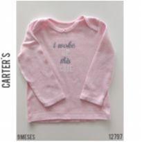 Blusa manga longa Carter`s - 9 meses - Carter`s e carter`s, baby gap, zara