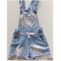 Jardineira jeans - 2 anos - Kids Denim Girls e Kids Denim girl