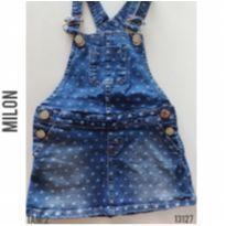 Jardineira, salopete jeans Milon - 2 anos - Milon e MILON E BRANDILI