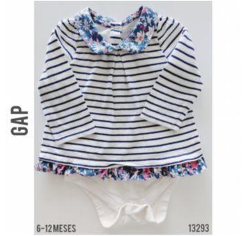Body vestido GAP - 9 a 12 meses - Baby Gap e GAP