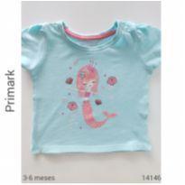 Camiseta importada Primark - 3 a 6 meses - Primark