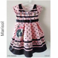 Vestido de festa Marisol - 3 a 6 meses - Marisol e Marisol, Lupo e Outras
