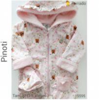 Macacão fofão Pinoti - 3 a 6 meses - Pinoti Baby e Pinotti