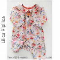 Macacão Lilica Ripilica - 3 a 6 meses - Lilica Ripilica e Lilica Ripilica Baby