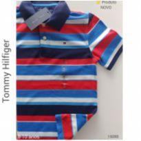 Camisa polo Tommy Hilfiger, NOVA - 8 anos - Tommy Hilfiger
