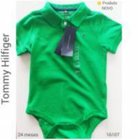 Body gola polo Tommy, NOVO - 2 anos - Tommy Hilfiger