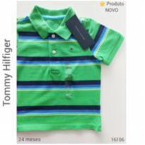 Camisa polo Tommy Hilfiger, NOVA - 2 anos - Tommy Hilfiger