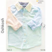 Camisa social, importada, NOVA - 2 anos - OshKosh e Genuine Kids  OshKosh