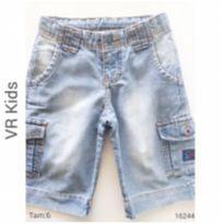 Bermuda Jeans VR KIDS - 6 anos - VR Kids