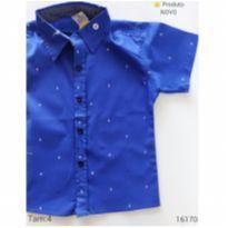 Camisa masculina, NOVA - 4 anos - VAM