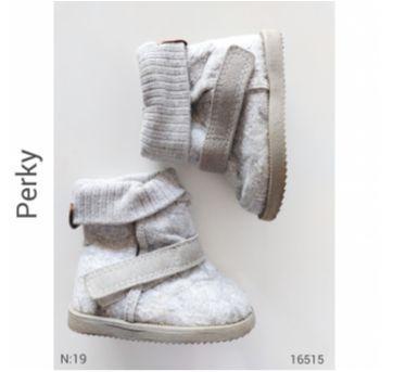 Bota em lã batida, Perky - 19 - Perky e Perkyds