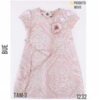 Vestido de festa luxo, NOVO - 3 anos - Bue