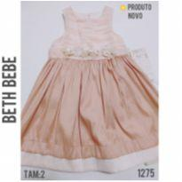 Vestido Beth Bebe, Novo - 2 anos - Beth Bebê
