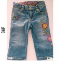 Calça jeans GAP - 4 anos - Baby Gap e GAP