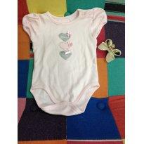 Body Princesa da Mamãe - 3 a 6 meses - BIBE