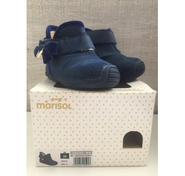 Botinha menina marisol azul 20 - 20 - Marisol