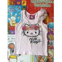Regatinha Hello Kit tam 2 - 2 anos - Hello  Kitty