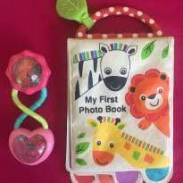 livro de banho e chocalho bebê -  - Carter`s e Bright Starts